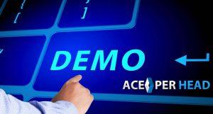Ace Per Head Software Demo